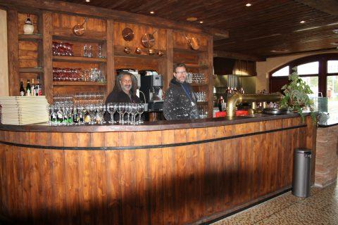Tutto Bene - ital. Restaurant Yachthafenresidenz Hohe Düne - ein Innenausbau der Extraklasse